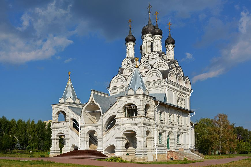 Annunciation Church in Taininsky - Day trips from Moscow - Sergiyev Posad - Moscowplaces.com