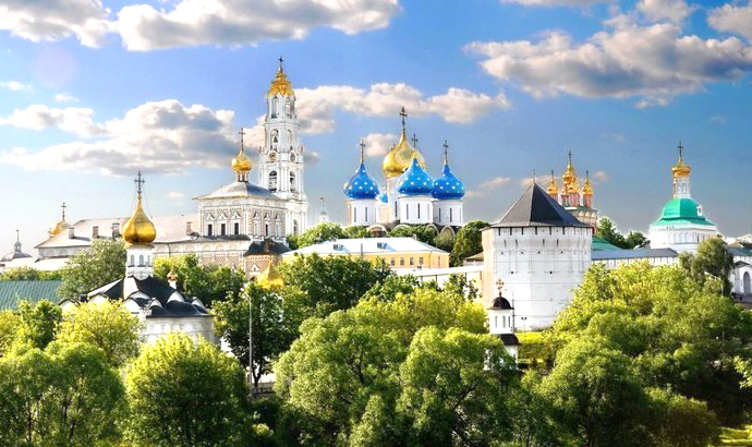 Trinity Sergius Lavra - Day trips from Moscow - Sergiyev Posad - Moscowplaces.com